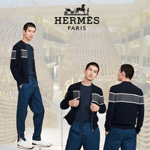 【AW2019】HERMES*エルメス*Rayures Graphiques*ジャケット