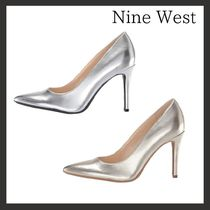 (12044 silver / gold) Nine West☆Fillパンプス