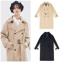 日本未入荷ROMANTIC CROWNのWIDE LAPEL TRENCH COAT 全2色