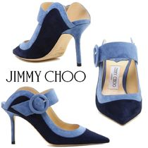 【SALE】Jimmy Choo◆HENDRIX 85 バイカラー ミュール