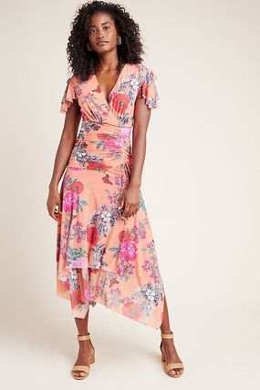セール! Maeve Simone Floral Midi Dress