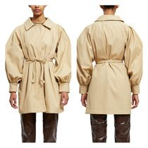 ★追跡有り★GATHERED SLEEVE TRENCH COAT★