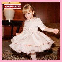 LAPIN HOUSE★Pink スパークリングドレス★2-8Y 関税込