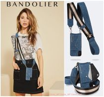 【NEW】Bandolier*Candice Denim Side-Slot*iPhone X/XS