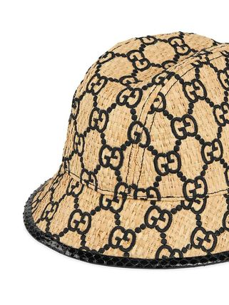 ea90761c1 関税込◆GG fedora hat with snakeskin
