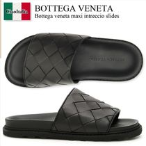 Bottega veneta maxi intreccio slides