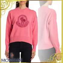 MONCLER(モンクレール) レディース・トップス 関税込◆Moncler Maglia Girocollo Con Logo In Wool Cashmere