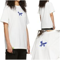 MAISON KITSUNE×ADER ERROR♪ 'The Blue Fox'コットンTシャツ