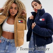 Tommy Hilfiger(トミーヒルフィガー) ジャケット ◆NEW◆TOMMY JEANS◆ ロゴ コーデュロイ ジャケット