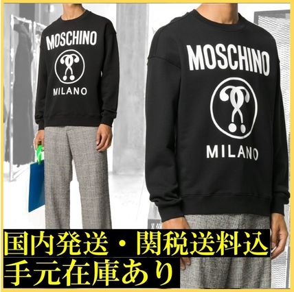 MOSCHINO DOUBLE QUESTION トレーナー