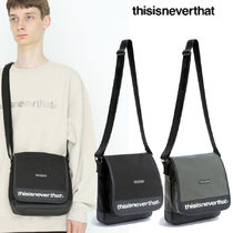 ★thisisneverthat★CORDURA 750D NYLON SHOULDER BAG 2色