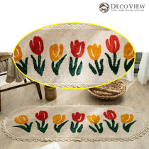 DECO VIEW (デコヴュー) ★ Tulip lace soft  Kitchen Mat