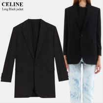 CELINE Long Black jacket