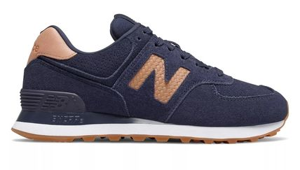 New Balance スニーカー 完売必須!!New Balance 574 Woven Logo Pigment with Veg Tan(2)