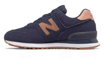 New Balance スニーカー 完売必須!!New Balance 574 Woven Logo Pigment with Veg Tan(3)