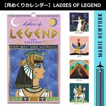 【壁掛けカレンダー】LADIES OF LEGEND 2020 CALENDAR