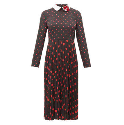 RED VALENTINO ワンピース 【希少★RED VALENTINO 関税込 】ハートプリント ワンピース 2色(2)