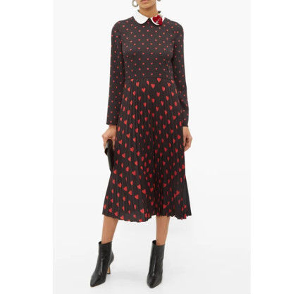 RED VALENTINO ワンピース 【希少★RED VALENTINO 関税込 】ハートプリント ワンピース 2色(3)