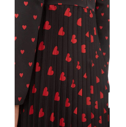 RED VALENTINO ワンピース 【希少★RED VALENTINO 関税込 】ハートプリント ワンピース 2色(5)