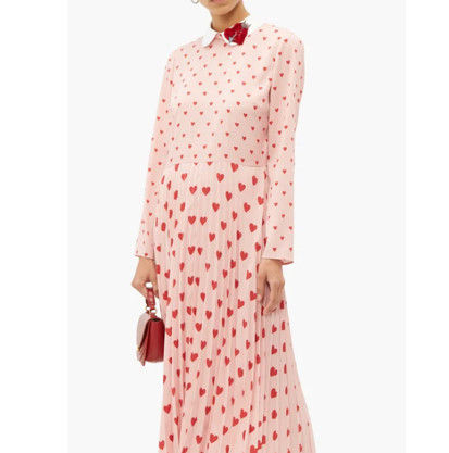 RED VALENTINO ワンピース 【希少★RED VALENTINO 関税込 】ハートプリント ワンピース 2色(12)