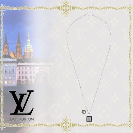 Louis Vuitton ネックレス・チョーカー Louis Vuitton(ルイヴィトン) MONOGRAM STRASS CHARM NECKLACE