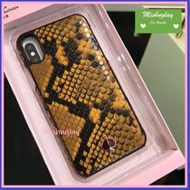 【kate spade】ヘビ柄♪ snake embossed iPhone X/XS case★