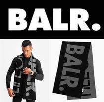 芸能人愛用 BALR BIG LIFEOFABALR. SCARF BLACK