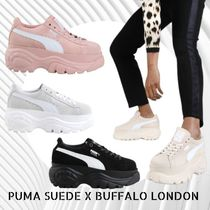 BAILA掲載 大人 カジュアル Buffalo LONDON×PUMA  UMA SUEDE