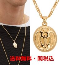 TOM WOOD★Feather-locket Goldネックレス