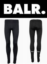 新作 芸能人愛用 BALR F-SERIES  HEXAGON FITNESS PANTS BLACK