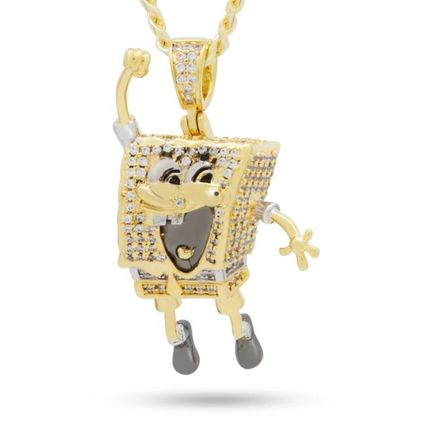 King Ice ネックレス・チョーカー 【King Ice】SpongeBob x King Ice - The I'm Ready! Necklace(2)