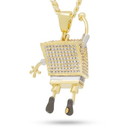 King Ice ネックレス・チョーカー 【King Ice】SpongeBob x King Ice - The I'm Ready! Necklace(3)