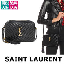 関税込☆SAINT LAURENT☆Lou Camera leather crossbody bag