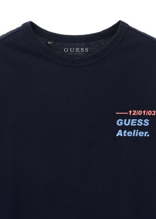Guess Tシャツ・カットソー ★イベント/関税込★GUESS★LETTERING 半袖 Tシャツ★2色★(4)