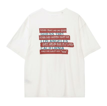 Guess Tシャツ・カットソー ★イベント/関税込★GUESS★LETTERING 半袖 Tシャツ★2色★(11)