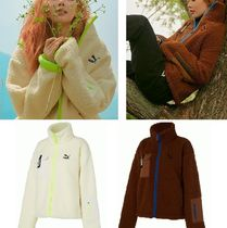 ヒョナ☆PUMA ボアフリース TRAIL SHERPA FZ JACKET W