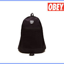 ★OBEY★CONDITIONS DAY PACK BLACK (FREE)