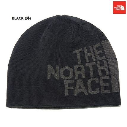 THE NORTH FACE ニットキャップ・ビーニー 【新作】 THE NORTH FACE ★人気★REVERSIBLE TNF BANNER BEANIE(2)