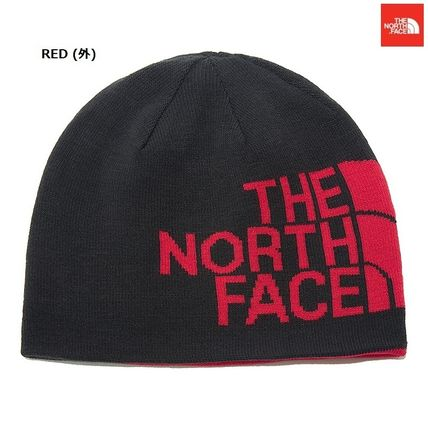 THE NORTH FACE ニットキャップ・ビーニー 【新作】 THE NORTH FACE ★人気★REVERSIBLE TNF BANNER BEANIE(4)