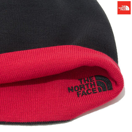 THE NORTH FACE ニットキャップ・ビーニー 【新作】 THE NORTH FACE ★人気★REVERSIBLE TNF BANNER BEANIE(5)