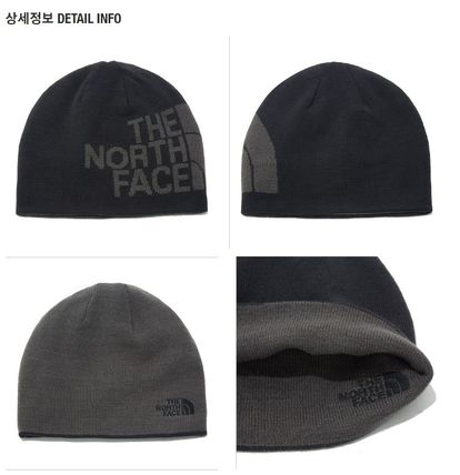 THE NORTH FACE ニットキャップ・ビーニー 【新作】 THE NORTH FACE ★人気★REVERSIBLE TNF BANNER BEANIE(6)