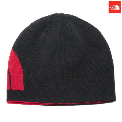THE NORTH FACE ニットキャップ・ビーニー 【新作】 THE NORTH FACE ★人気★REVERSIBLE TNF BANNER BEANIE(10)