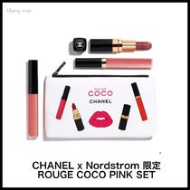 CHANEL ROUGE COCO PINK SET / ポーチ付きリップ&チークセット