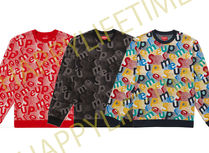 SUPREME19FW★SCATTER TEXT CREWNECK