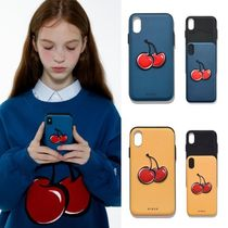 KIRSH★韓国☆新作★BIG CHERRY BUMPER PHONE CASE 携帯ケース