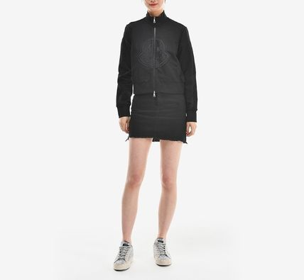 MONCLER アウターその他 【MONCLER】19SS ビッグロゴ ジップアップジャケット BLACK/EMS(2)