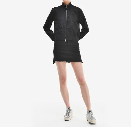 MONCLER アウターその他 【MONCLER】19SS ビッグロゴ ジップアップジャケット BLACK/EMS(4)