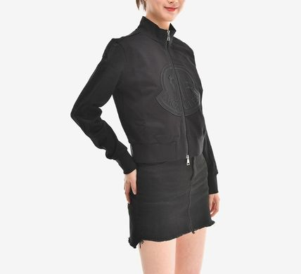 MONCLER アウターその他 【MONCLER】19SS ビッグロゴ ジップアップジャケット BLACK/EMS(8)