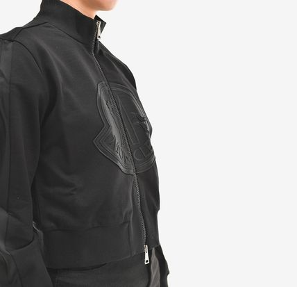 MONCLER アウターその他 【MONCLER】19SS ビッグロゴ ジップアップジャケット BLACK/EMS(11)