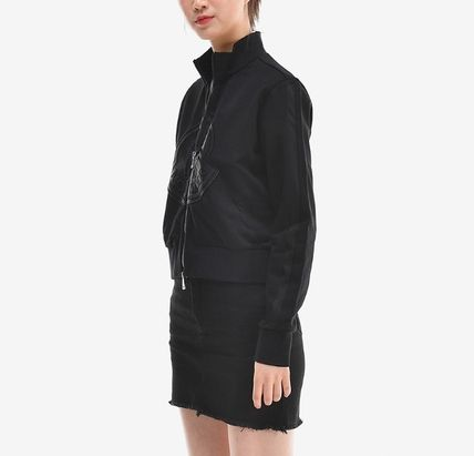 MONCLER アウターその他 【MONCLER】19SS ビッグロゴ ジップアップジャケット BLACK/EMS(15)